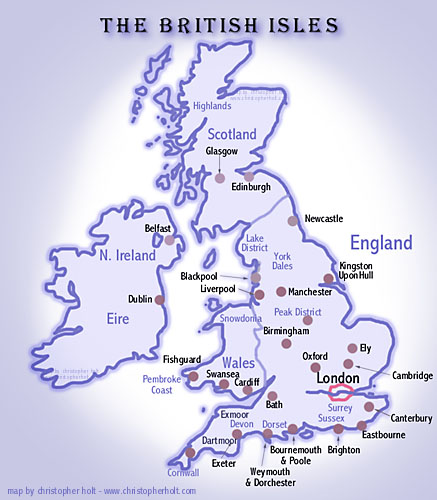 Map Of Uk To Buy.Buy England And Britain Maps For Route Planning And Tourism In The
