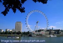 pictures of the london eye